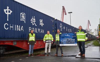 Panda-Sprinter: Neues Logistikkonzept im Seehafen Brake