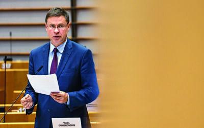 Dombrovskis steuert EU-Handelspolitik