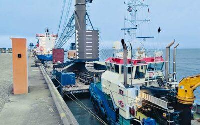 Neuer Hafenmobilkran für Blue Water BREB