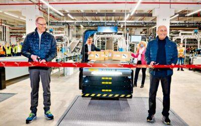 Puma logistics centre runs smoothly thanks to BLG