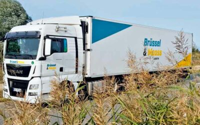 Cool transport with hydrogen-powered lorry