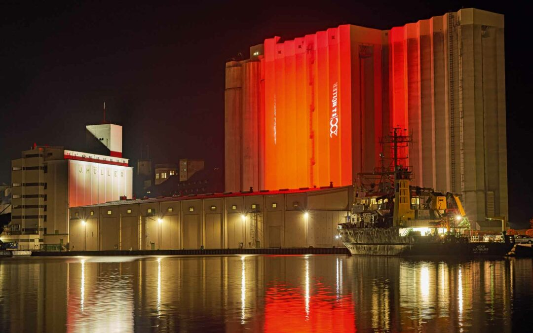 Anniversary for a port logistics specialist
